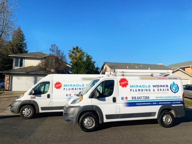 Miracle Works Plumbing & Drain Van
