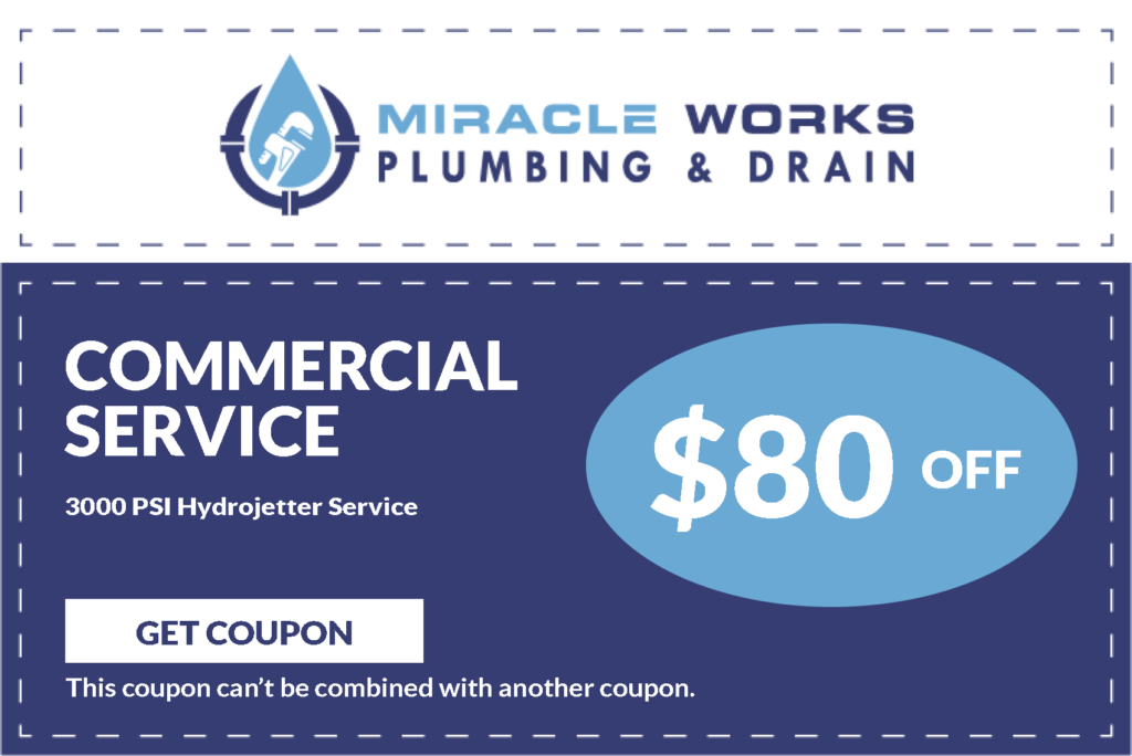 Commercial Plumbing Services Coupons