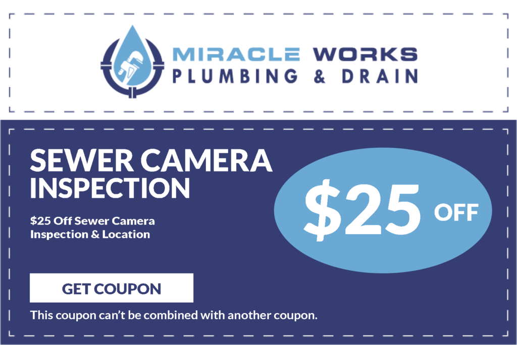 Sewer Camera Inspection Coupons