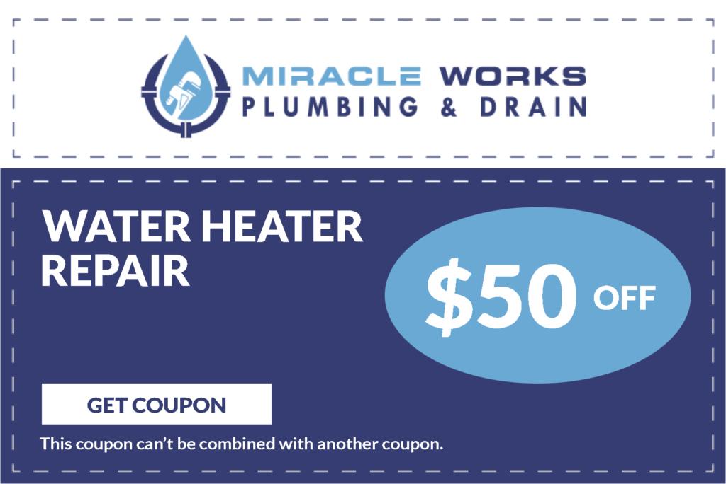 Water Heater Repair Coupon
