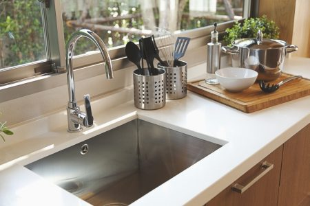 Kitchen,Sink,And,Faucet